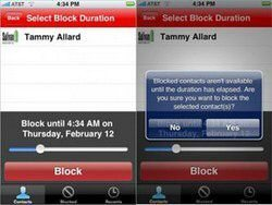 Bad Decision Blocker for Apple iPhone stops regretted calls