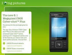 Sony Ericsson C905 Plus for UK only?