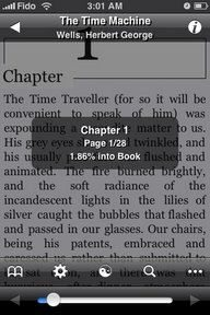 Apple iPhone ebook reader Stanza gets upgraded to 1.8