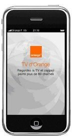 Orange France offers free-ish TV app for iPhone