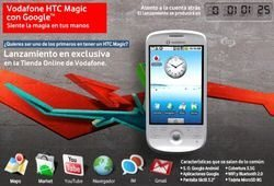 Spain First To Launch HTC Magic Available Now