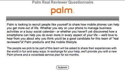 Palm is looking for Pre reviewers, are you one of them?