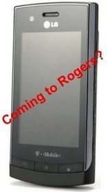LG GT500 Puccini coming to Rodgers Canada