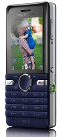 Sony Ericsson S312 Snapshot phone gets unveiled