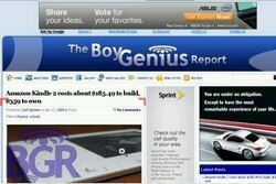 Skyfire browser with flash on BlackBerry gets pictured