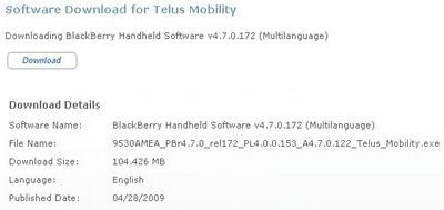 Official Release: BlackBerry Storm 9530 OS 4.7.0.122