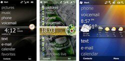 Windows Mobile 6.5: Titanium plug-ins and support custom themes