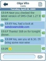SMS Chat v1.2 for Windows Mobile phones now available