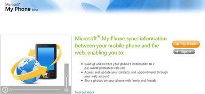 Microsoft My Phone Service Now Ready For Public Tests