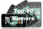 Ten rumours listed for the new iPhone 2009