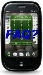 Palm Pre FAQ from Sprint Customer Service apparently