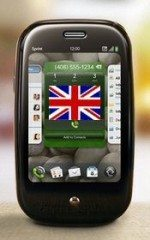 Who will be UK carrier for Palm Pre?