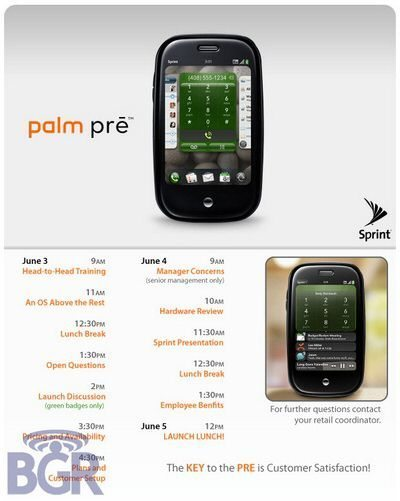 Palm Pre Release Date Revealed: Possibly Friday June 5th