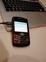 TetherBerry your BlackBerry to a Mac