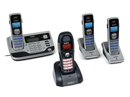 What Recession: Uniden TRU 9585-4WX four handset phone system: Specs
