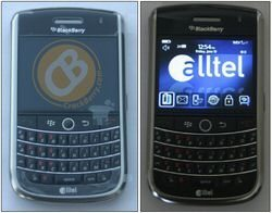 Photos: BlackBerry Tour Phone with Alltel stamped on it