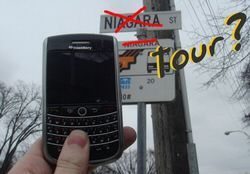 BlackBerry Tour with Possible Touchscreen