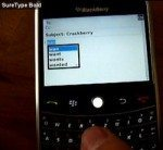 BlackBerry OS 5.0 to get SureType