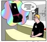 iPhone 3G S Comic  hits on S factor