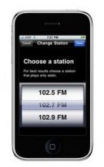 Belkin TuneCast Auto Live and GPS-Assisted FM Transmitter with iPhone Application