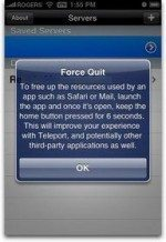 New iPhone 3.0: How to Force Quit
