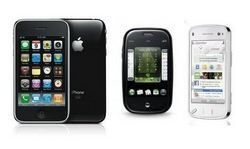 Palm Pre, iPhone 3GS and Nokia N97 Face Off