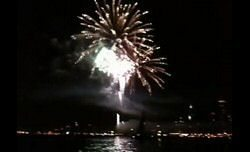 Video Test: Apple iPhone 3G S recording fireworks at night