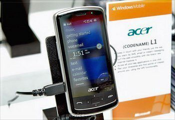 1 GHz Acer F1 Smartphone, L1 and C1 coming after