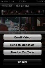 iPhone 3GS Boosts Mobile YouTube Uploads 400% Per Day