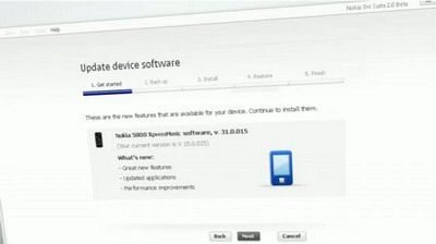 Nokia 5800 v31.0.0.15 Firmware Update soon to come
