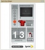 Sprint Now Network Customisable Widget Screensaver for Download