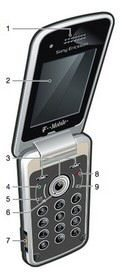 Sony Ericsson TM717 at FCC destined for T-Mobile USA