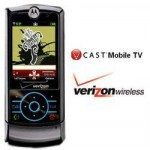 Verizon Wireless V-Cast Mobile TV, television for mobiles