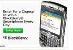 Free BlackBerry Smartphone to be Won Everyday of June