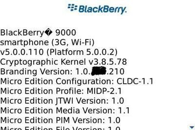 BlackBerry OS 5.0: Screen Caps and Improvements