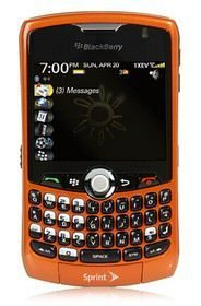 Sprint BlackBerry Curve 8330 new colour Inferno at $50
