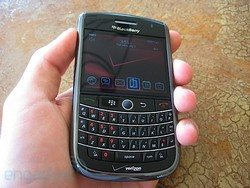 Verizon hands-on BlackBerry Tour Reviews