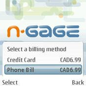 Canada's Rogers Wireless and N-Gage Billing