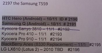 HTC Hero going Stateside on October the 11th?