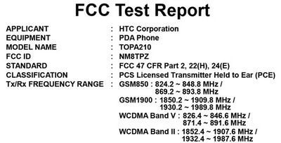 HTC Touch Diamond2 Warhawk heading for AT&T hits FCC