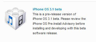 iPhone 3.1 SDK Beta Features: So what is new then?