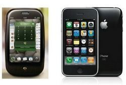 Palm Pre vs. Apple iPhone: Both with O2, sales will tell all