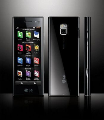 New LG BL40 Chocolate official photo shots