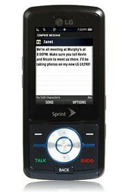 Sprint LG LX290 for $29.99 on contract