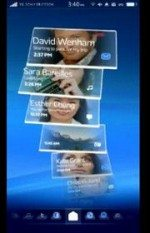 Video: Sony Ericsson Rachael Android UI