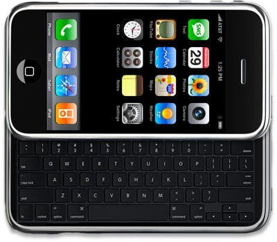 Should Apple iPhone have full QWERTY hardware keyboard?