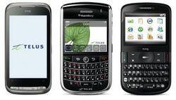 Touch Pro2, HTC Snap, BlackBerry Tour Telus launch soon