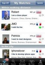 HiMyTribe a location based social network for the iPhone