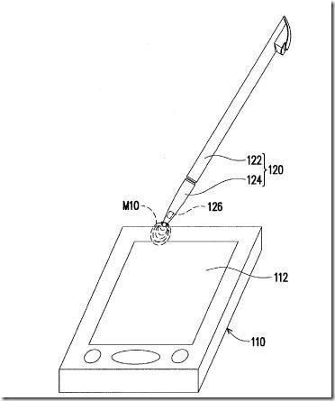 New Patent for HTC magnetic stylus for capacitive screens