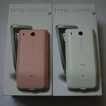 HTC Hero in Pink Hue Gets Pictured